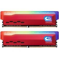 Memória DDR4 Geil Orion, Edição AMD, 16GB (2x8GB) 3600MHz, RGB, Red, GAOSR416GB3600C18BDC