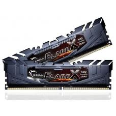 Memória DDR4 G.Skill Flare X, 16GB (2x8GB) 2400MHz, F4-2400C16D-16GFX