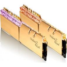 Memória DDR4 G.Skill Trident Z Royal, 16GB (2X8GB) 3200MHz, F4-3200C16D-16GTRG