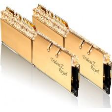 Memória DDR4 G.Skill Trident Z Royal, 16GB (2X8GB) 3600MHz, F4-3600C18D-16GTRG