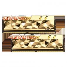 Memória DDR4 G.Skill Trident Z Royal Elite, Gold, RGB, 16GB (2x8GB) 3600MHz, F4-3600C16D-16GTEGC