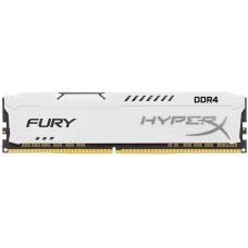 Memória DDR4 Kingston HyperX Fury, 8GB 3200MHz, White, HX432C18FW2/8