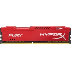 Memória DDR4 Kingston HyperX Fury, 8GB 3466MHz, Red, HX434C19FR2/8