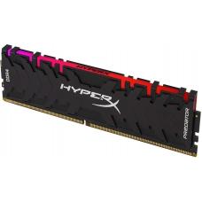 Memória DDR4 Kingston HyperX Predator RGB, 16GB 3000MHz, HX430C15PB3A/16
