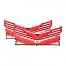 Memória DDR4 OLOy WarHawk Red, 16GB (2x8GB), 3000MHZ, RGB, MD4U083016BCDA - IMP