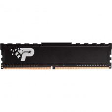 Memória DDR4 Patriot Signature Premium Series, 4GB (4GB) 2400MHz, Black, PSP44G240081H1