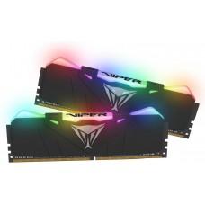 Memória DDR4 Patriot Viper RGB, 32GB (2x16GB) 3600MHz, Black, PVR432G360C7K