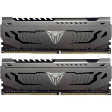 Memória DDR4 Patriot Viper Steel, 16GB (2x8GB) 3600MHz, Black, PVS416G360C7K