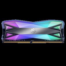 Memória DDR4 XPG Spectrix D60 CL19, 8GB (1x8GB), 4133Mhz, RGB GRIS, Gray, AX4U41338G19J-ST60