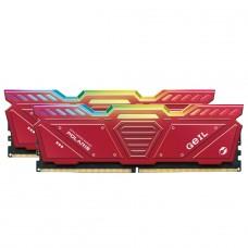 Memória DDR5 Geil Polaris, 32GB (2x16GB) 4800MHz, Red, GOSR532GB4800C40DC