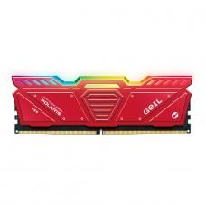 Memória DDR5 Geil Polaris, 8GB 4800MHz, Red, GOSR58GB4800C40SC