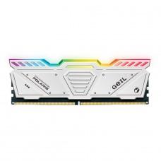 Memória DDR5 Geil Polaris, 8GB 4800MHz, White, GOSW58GB4800C40SC