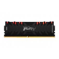 Memória Kingston Fury Renegade RGB, 8GB, 3200Mhz, DDR4, CL16, Preto, KF432C16RBA/8