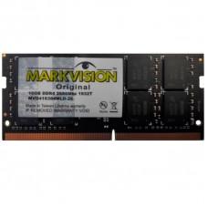 Memória P/ Notebook DDR4 Markvision 16GB 2666Mhz, MVD416384MLD-26