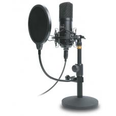 Microfone Gamer Dazz Broadcaster Pro, USB, Black, 6014568