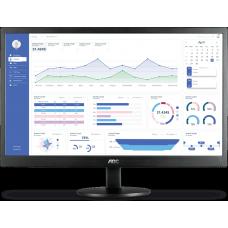 Monitor AOC 21.5 Pol, FULL HD, LCD, LED, VGA, HDMI, E2270SWHEN