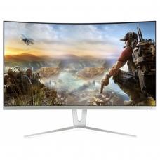 """Monitor GameMax Gamer Curvo 27"""" Pol 144Hz 1ms Full HD GMX27C144 Branco - Open Box"""