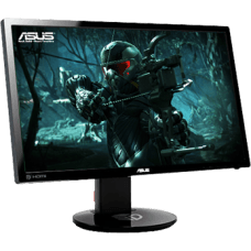 Monitor Gamer Asus 24 Pol, Full HD, 144Hz, 1ms, VG248QE
