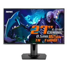Monitor Gamer ASUS 27 Pol, Full HD, 165Hz, 0,5ms, G-Sync, HDMI/DP/DVI, Altura Ajustável, VG278QR, Open Box