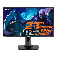 Monitor Gamer ASUS 27 Pol, Full HD, 1ms, IPS, 144Hz, G-Sync, HDMI/DP/DVI, Altura Ajustável, VG279Q