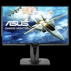 Monitor Gamer Asus Gaming, Led 24,5 Pol, Full HD, 165Hz, 0,5ms, HDMI, DisplayPort, FreeSync, G-Sync, VG258QR