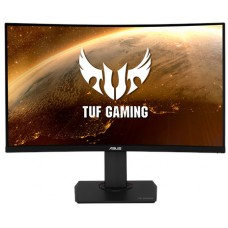 Monitor Gamer Asus TUF Gaming LCD 31,5 Pol, Widescreen Curvo, 144Hz, 1ms, HDMI, DisplayPort, Som integrado, VG32VQ