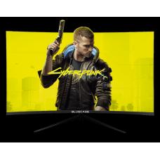 "Monitor Gamer BlueCase 27"", LED, 144Hz, 2ms, Curvo, Freesync, Borda Ultra Fina, BM2711GC"