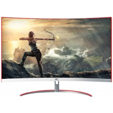 Monitor Gamer HQ Curvo 24 Pol, Full HD, 144Hz, 1ms, Freesync, HDMI, Display Port