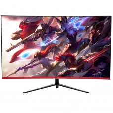 Monitor Gamer HQ Curvo 31.5 Pol, Full HD, 165Hz, 1ms, HDMI, Display Port - Open Box