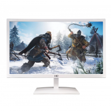 Monitor Gamer HQ LED 21.5 Pol, Full HD, HDMI/VGA, 21.5WHQ-LED - White