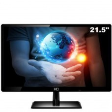 Monitor Gamer HQ LED 22 Pol, Full HD, HDMI/VGA, 22HQ-LED - Black - Open Box