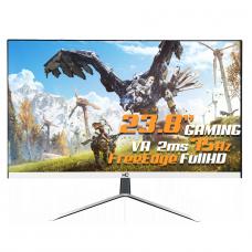 Monitor Gamer HQ LED 24 Pol, Full HD, Free Edge, HDMI/VGA, 24HQ-LED SB - Open Box