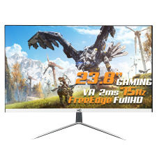 Monitor Gamer HQ LED 23.8 Pol, Full HD, Free Edge, HDMI/VGA, 24HQ-LED SB