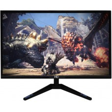 Monitor Gamer HQ LED 24 Pol, HD, HDMI, Widescreen, Black