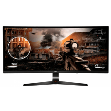 Monitor Gamer LG 34 Pol Curvo, Full HD, 144Hz , 1ms, UltraWide, AMD FreeSync, 34UC79G