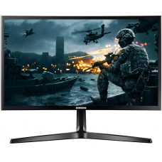 Monitor Gamer Samsung 24 Pol, Curvo, Full HD, 144hz, LC24RG50FQLMZD