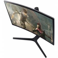 Monitor Gamer Samsung 27 Pol Curvo, Full HD, 144hz, 1ms, LC27FG73FQLXZD