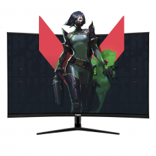 Monitor Gamer TIEM, 32 Pol, Full HD, Curvo, 1ms, 165Hz, HDMI/DP/DVI, C32FSP
