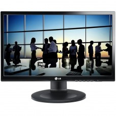 "Monitor LG 21,5"" Full HD, IPS, HDMI, DisplayPort, Altura Ajustável, 22MP55PJ"