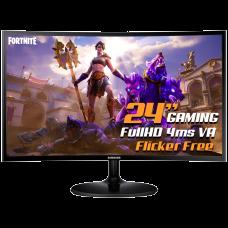 Monitor Gamer Samsung CF390 Curvo 24 Pol, Full HD, HDMI/VGA, LC24F390FHLMZD