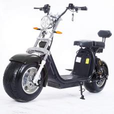 Moto Elétrica RideMode ECO 1500w, Aluminium, Black, EM-04-FB
