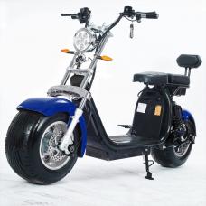 Moto Elétrica RideMode ECO 1500w, Aluminium, Blue, EM-04-BB