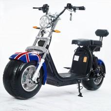 Moto Elétrica RideMode ECO 1500w, Aluminium, UK Flag