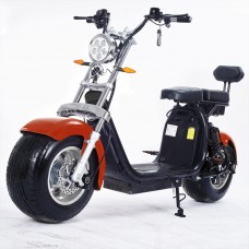 Moto Elétrica RideMode ECO 2000w, Aluminium, Red, EM-02-BR