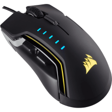 Mouse Corsair Gamer Glaive CH-9302111-NA RGB 6 Botoes 16000 DPI Alumínio