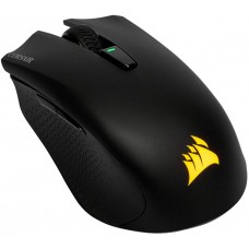 Mouse Corsair Gamer Harpoon RGB, 6 Botões 10000 DPI, Wirelees, Black, CH-9311011-NA