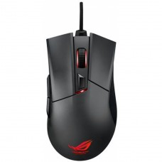 Mouse Gamer Asus Laser Rog Gladius 6400 DPI 2 Botões Programáveis Preto - Open Box