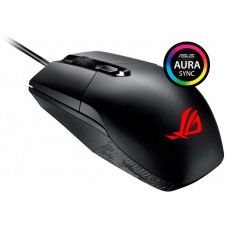 Mouse Gamer Asus Rog Strix Impact P303 Botão DPI 5000 DPI RGB Preto - Open Box
