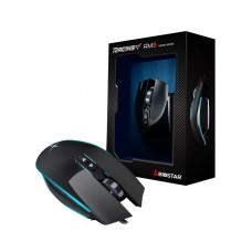 Mouse Gamer Biostar Racing AM3,  5000 DPI, 7 Botões, Black