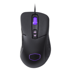 Mouse Gamer Cooler Master, MM531, 12000DPI, RGB, 7 Botões, Black, MM-531-KKWO1